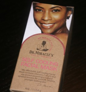 Dr. Miracles Self Cooling Mask