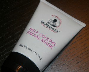 Dr. Miracles self cooling facial mask