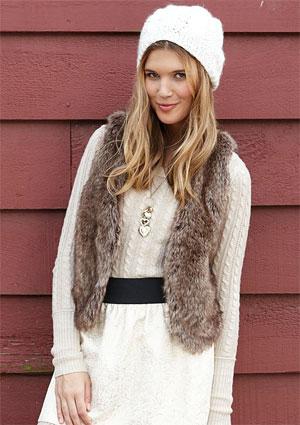 Charlotte Faux Fur Vest