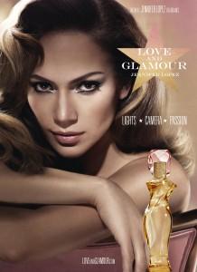 Jennifer Lopez Love & Glamour Ad