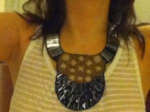 The bib necklace
