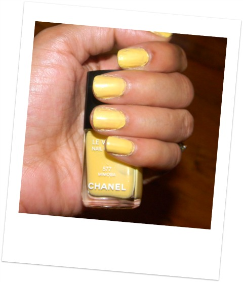 Chanel Le Vernis Mimosa Swatch