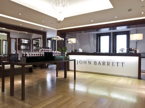 John Barrett salon at Bergdorf Goodman