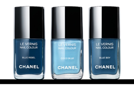 Chanel's Releases Limited Edition Denim Nail Polish