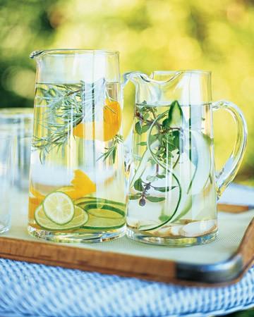 Spa Water from Martha Stewart
