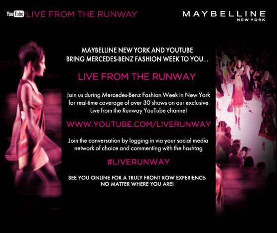 Maybelline Mercedes-Benz Fashion Week