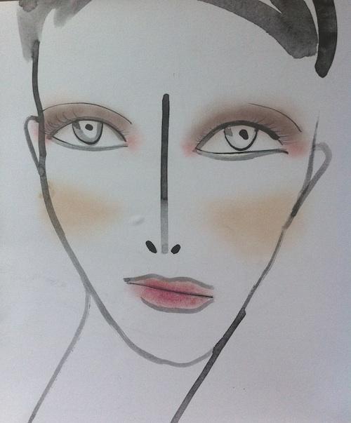 NARS at Mandy Coon Spring 2012 face chart