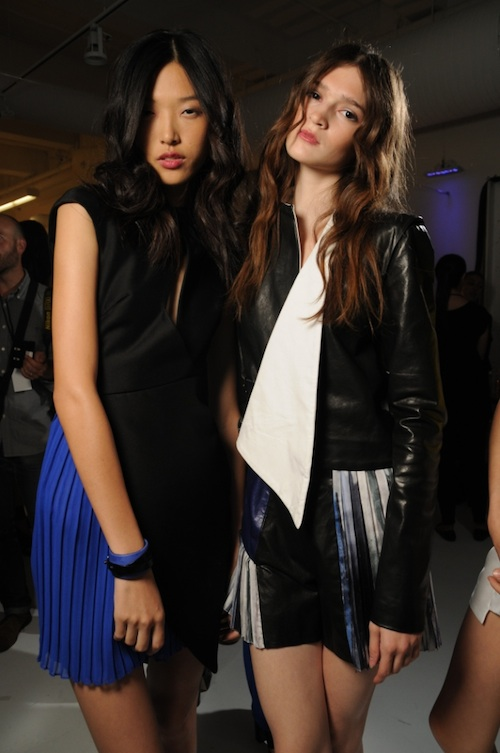 Nars at Mandy Coon SS 12 runway for Mercedes-benz Fashion Week