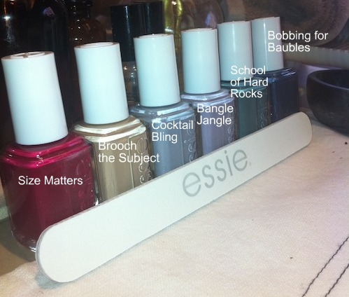 Essie nail polish Winter 2011 collection