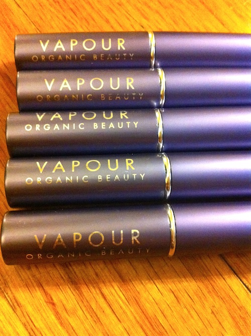 Vapour Organic Beauty Siren Lipstick Swatches and review