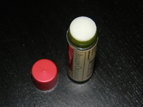 Avalon Organic certified USDA organic lip balm