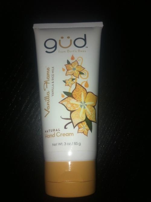 güd vanilla flame hand cream