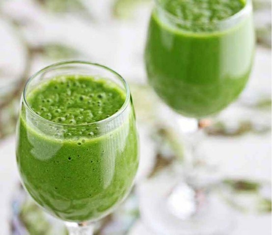 The Glowing Green Smoothie from The Beauty Detox Solution by Kimberly Snyder