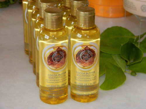 Cruelty free beauty brand, The Body Shop new pulse stores, beautifying body oil for face, hair and body