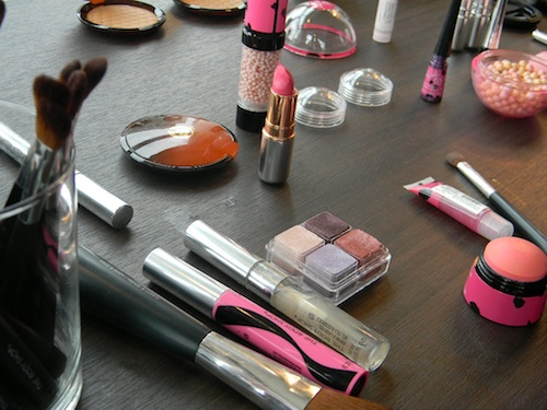The Body Shop Lily Cole makeup pictures