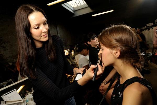 Mercedes-Benz Fashion Week: Backstage at Helmut Lang SS 2013