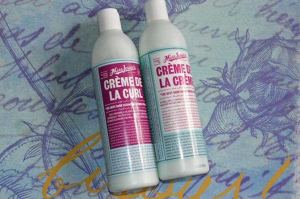 Review: Miss Jessie's Crème de la Curl Cleansing Crème and Conditioner