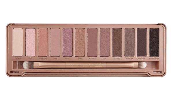 Urabn Decay Naked Palette Colors