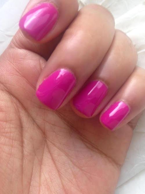Manicure: Essie Nail Polish in Too Taboo
