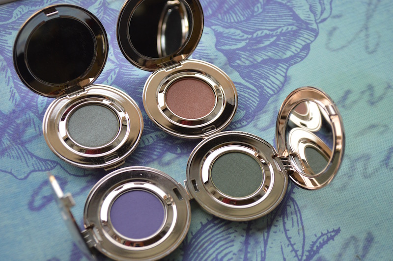 Jane Iredale Ready to Wear 2015 PurePressed Eye Shadow Mermaid, Iris, Steamy and Forest